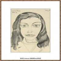 英国表现派绘画大师卢西安弗洛伊德Lucian Freud油画作品高清大图最贵画家卢西安弗洛伊德绘画作品高清图库 (145