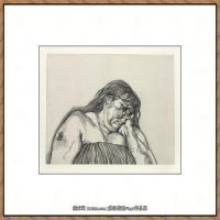 英国表现派绘画大师卢西安弗洛伊德Lucian Freud油画作品高清大图最贵画家卢西安弗洛伊德绘画作品高清图库 (72)