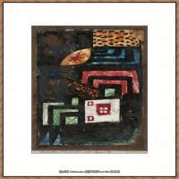 画家保罗克利Paul Klee油画作品高清图片野兽派油画大师作品高清大图 (55)