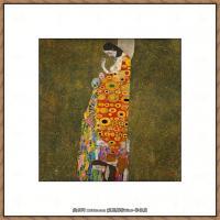 克里姆特Gustav Klimt油画作品奥地利象征主义画家克里姆特油画作品高清图片 (8)