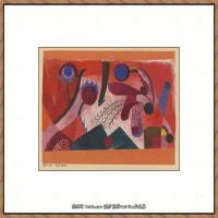 画家保罗克利Paul Klee油画作品高清图片野兽派油画大师作品高清大图 (62)