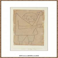 画家保罗克利Paul Klee油画作品高清图片野兽派油画大师作品高清大图 (34)