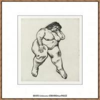 英国表现派绘画大师卢西安弗洛伊德Lucian Freud油画作品高清大图最贵画家卢西安弗洛伊德绘画作品高清图库 (41)
