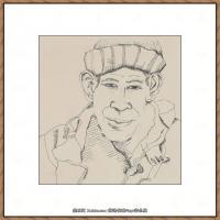 英国表现派绘画大师卢西安弗洛伊德Lucian Freud油画作品高清大图最贵画家卢西安弗洛伊德绘画作品高清图库 (23)