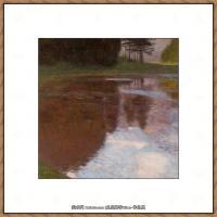 克里姆特Gustav Klimt油画作品奥地利象征主义画家克里姆特油画作品高清图片 (7)