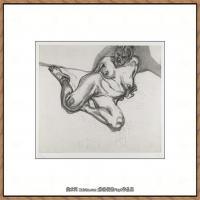 英国表现派绘画大师卢西安弗洛伊德Lucian Freud油画作品高清大图最贵画家卢西安弗洛伊德绘画作品高清图库 (107