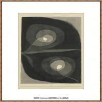 画家保罗克利Paul Klee油画作品高清图片野兽派油画大师作品高清大图 (5)