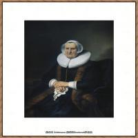 荷兰现实主义画家伦勃朗Rembrandt17世纪最伟大的画家油画作品高清大图肖像画风景画风俗画宗教画 (32)