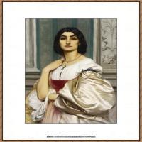 弗雷德里克莱顿洛德莱顿Frederic_Leighton油画作品高清大图古典油画作品高清图片 (50)