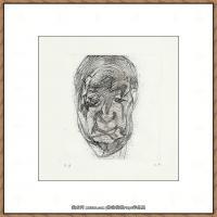英国表现派绘画大师卢西安弗洛伊德Lucian Freud油画作品高清大图最贵画家卢西安弗洛伊德绘画作品高清图库 (138
