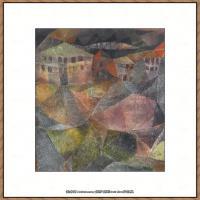画家保罗克利Paul Klee油画作品高清图片野兽派油画大师作品高清大图 (46)
