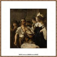 荷兰现实主义画家伦勃朗Rembrandt17世纪最伟大的画家油画作品高清大图肖像画风景画风俗画宗教画 (150)