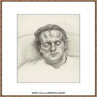 英国表现派绘画大师卢西安弗洛伊德Lucian Freud油画作品高清大图最贵画家卢西安弗洛伊德绘画作品高清图库 (68)