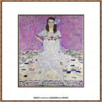奥地利画家克里姆特Gustav Klimt油画作品高清图片