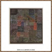 画家保罗克利Paul Klee油画作品高清图片野兽派油画大师作品高清大图 (41)