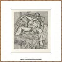 英国表现派绘画大师卢西安弗洛伊德Lucian Freud油画作品高清大图最贵画家卢西安弗洛伊德绘画作品高清图库 (58)