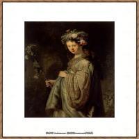 荷兰现实主义画家伦勃朗Rembrandt17世纪最伟大的画家油画作品高清大图肖像画风景画风俗画宗教画 (27)
