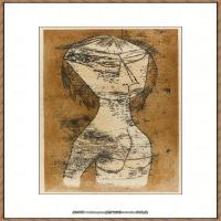 画家保罗克利Paul Klee油画作品高清图片野兽派油画大师作品高清大图 (122)