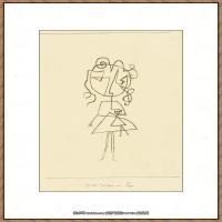 画家保罗克利Paul Klee油画作品高清图片野兽派油画大师作品高清大图 (22)