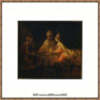 荷兰现实主义画家伦勃朗Rembrandt17世纪最伟大的画家油画作品高清大图肖像画风景画风俗画宗教画 (78)