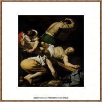 意大利画家卡拉瓦乔Caravaggio油画人物高清图片Crucifixion of Saint Peter (c