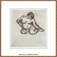 英国表现派绘画大师卢西安弗洛伊德Lucian Freud油画作品高清大图最贵画家卢西安弗洛伊德绘画作品高清图库 (63)