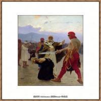 列宾Ilya Repin经典油画作品高清图片人物肖像油画作品图片素材写实派画家油画作品大图 (26)