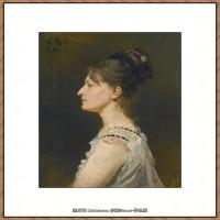 列宾Ilya Repin经典油画作品高清图片人物肖像油画作品图片素材写实派画家油画作品大图 (19)