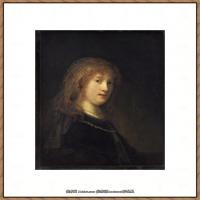 荷兰现实主义画家伦勃朗Rembrandt17世纪最伟大的画家油画作品高清大图肖像画风景画风俗画宗教画 (130)