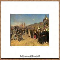 列宾Ilya Repin经典油画作品高清图片人物肖像油画作品图片素材写实派画家油画作品大图 (16)