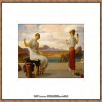 弗雷德里克莱顿洛德莱顿Frederic_Leighton油画作品高清大图古典油画作品高清图片 (2)