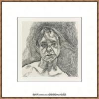 英国表现派绘画大师卢西安弗洛伊德Lucian Freud油画作品高清大图最贵画家卢西安弗洛伊德绘画作品高清图库 (128