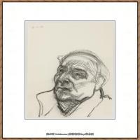 英国表现派绘画大师卢西安弗洛伊德Lucian Freud油画作品高清大图最贵画家卢西安弗洛伊德绘画作品高清图库 (140