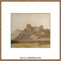 弗雷德里克莱顿洛德莱顿Frederic_Leighton油画作品高清大图古典油画作品高清图片 (60)