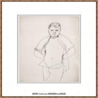 英国表现派绘画大师卢西安弗洛伊德Lucian Freud油画作品高清大图最贵画家卢西安弗洛伊德绘画作品高清图库 (141