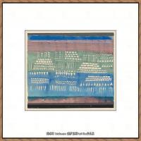 画家保罗克利Paul Klee油画作品高清图片野兽派油画大师作品高清大图 (87)