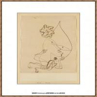 画家保罗克利Paul Klee油画作品高清图片野兽派油画大师作品高清大图 (105)
