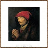 荷兰现实主义画家伦勃朗Rembrandt17世纪最伟大的画家油画作品高清大图肖像画风景画风俗画宗教画 (69)