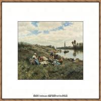 画家保罗克利Paul Klee油画作品高清图片野兽派油画大师作品高清大图 (75)