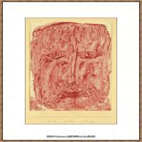画家保罗克利Paul Klee油画作品高清图片野兽派油画大师作品高清大图 (35)