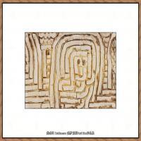 画家保罗克利Paul Klee油画作品高清图片野兽派油画大师作品高清大图 (113)