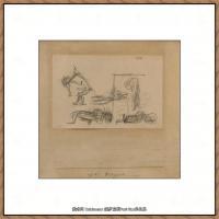 画家保罗克利Paul Klee油画作品高清图片野兽派油画大师作品高清大图 (51)