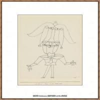 画家保罗克利Paul Klee油画作品高清图片野兽派油画大师作品高清大图 (70)