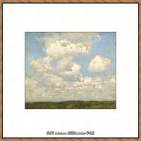 俄罗斯画家伊萨克列维坦Isaac Levitan油画风景作品图片风景油画高清大图 (13)