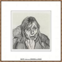 英国表现派绘画大师卢西安弗洛伊德Lucian Freud油画作品高清大图最贵画家卢西安弗洛伊德绘画作品高清图库 (132