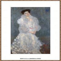 克里姆特Gustav Klimt油画作品奥地利象征主义画家克里姆特油画作品高清图片 (15)