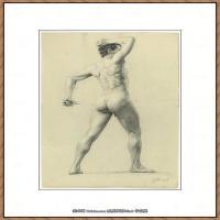 奥地利绘画大师克里姆特Austria Gustav Klimt素描手稿人物素描经典素描高清图片克里姆特速写 (54)