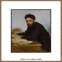 列宾Ilya Repin经典油画作品高清图片人物肖像油画作品图片素材写实派画家油画作品大图 (8)