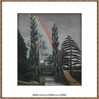 法国画家亨利卢梭Jacques Rousseau油画作品高清图片杰出的油画作品梦 (14)