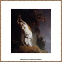 荷兰现实主义画家伦勃朗Rembrandt17世纪最伟大的画家油画作品高清大图肖像画风景画风俗画宗教画 (221)